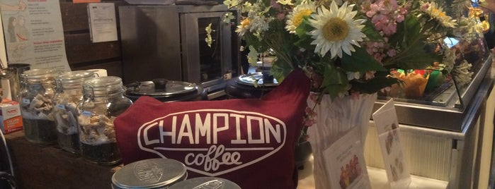 Champion Coffee is one of Lugares guardados de Emily.