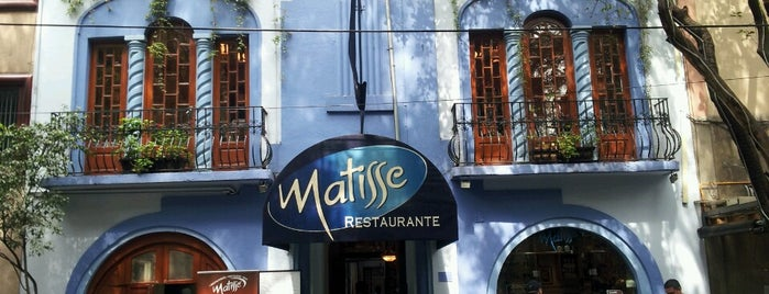 Matisse is one of Mexico City.