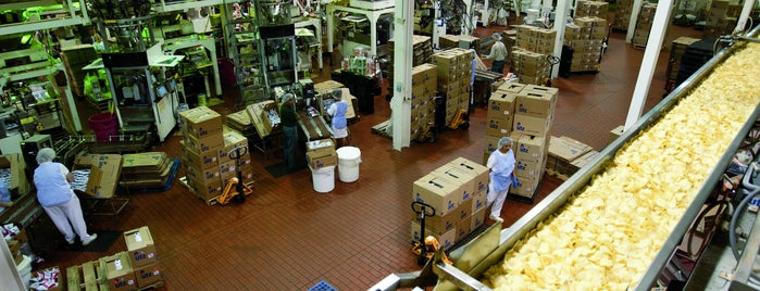 UTZ is one of Factory Tours.