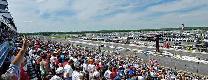 Pocono Raceway is one of Fan-Friendly PA.