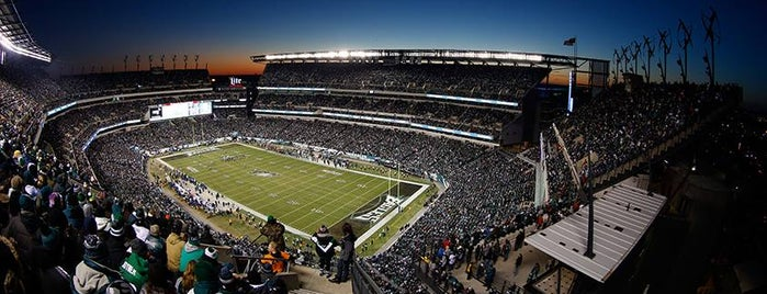 Lincoln Financial Field is one of Fan-Friendly PA.