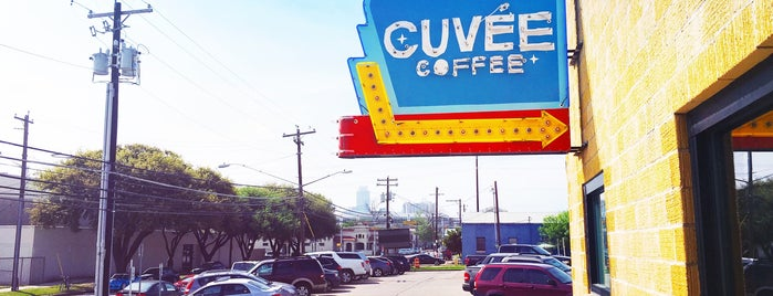 Cuvée Coffee is one of Austin musts.