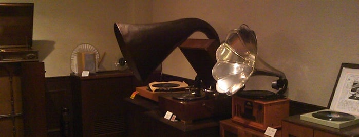 Kanazawa Phonograph Museum is one of 金沢市文化施設共通観覧券で入れる.