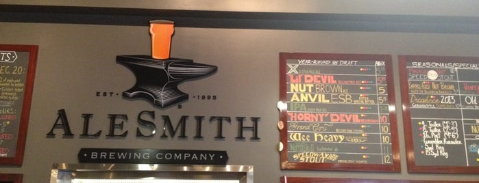 AleSmith Brewing Company is one of Breweries in the USA I want to visit.