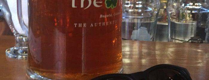 The Irish Pub is one of Lugares favoritos de Changui.