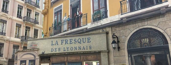 Fresque des Lyonnais is one of S'ın Beğendiği Mekanlar.