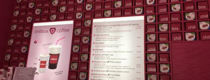 chillbox frozen yogurt is one of S'ın Beğendiği Mekanlar.