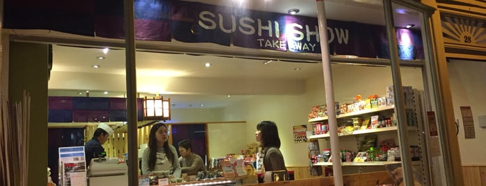 Sushi Show is one of Japan in London.