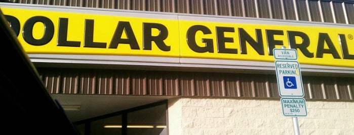 Dollar General is one of Places to go in Fayetteville.