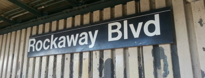 MTA Subway - Rockaway Blvd (A) is one of Top 5 Stations on the (A) & (C) Lines..