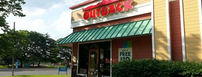 Outback Steakhouse is one of Lieux qui ont plu à $PAR☆LE aka.