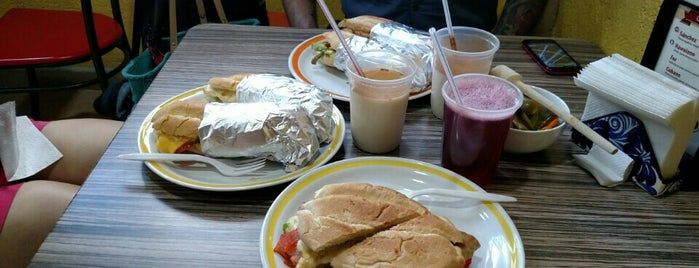 Tortas El Capricho is one of Mexico City.