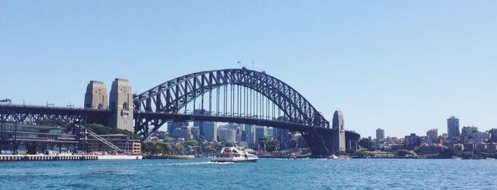 Circular Quay is one of Sydney.