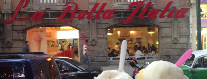 La Bella Italia is one of ice-cream.