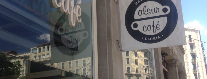 Alsur Café (Llúria) is one of Barcelona centre.