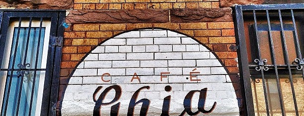 Cafe Ghia is one of new york.