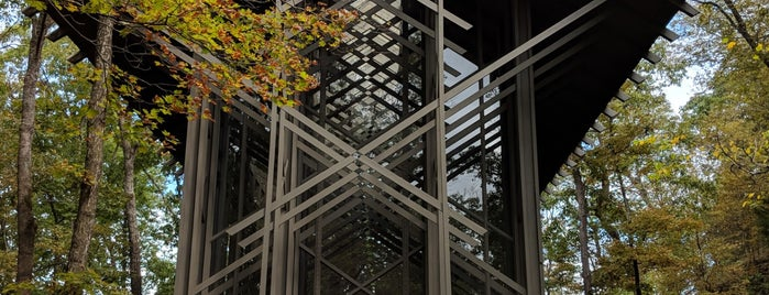 Thorncrown Chapel is one of Architecture.
