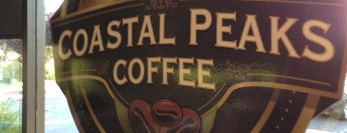 Coastal Peaks Coffee is one of SLO County Top Spots.
