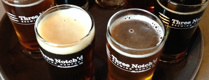 Three Notch'd Brewing Company is one of Breweries or Bust 2.