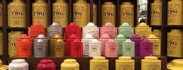 TWG Tea Salon & Boutique is one of Old Time Faves: Singapore.