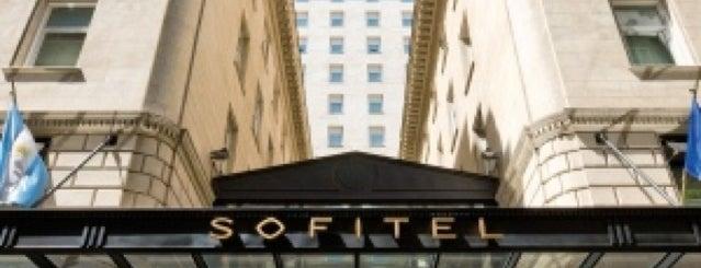 Sofitel is one of Posti che sono piaciuti a Nicolás.