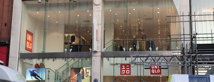 UNIQLO is one of London favourites.