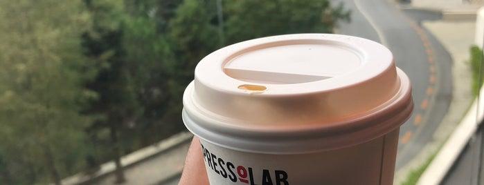 Espressolab AcarBlu is one of Orte, die Nilay gefallen.