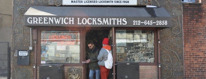 Greenwich Locksmiths is one of NYC Shopping.
