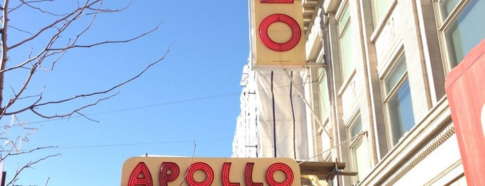 Apollo Theater is one of NYC: Show.