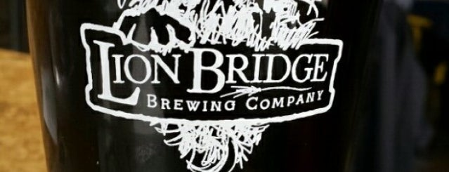 Lion Bridge Brewing Company is one of Iowa.
