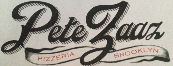 Pete Zaaz is one of New York: Pizza.
