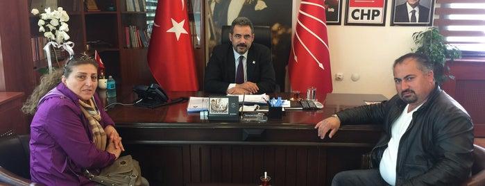 CHP Çankaya İlçe Başkanlığı is one of สถานที่ที่ İlkin ถูกใจ.