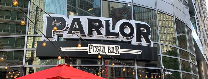 Parlor Pizza Bar is one of Locais curtidos por Olimpia.