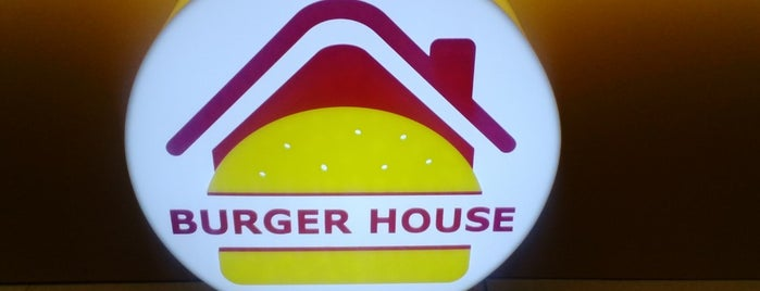 Burger House is one of Lugares favoritos de Виктор.