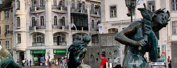 Rossio is one of 101 coisas para fazer em Lisboa antes de morrer.