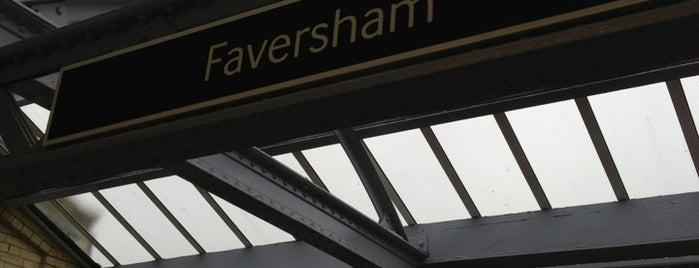 Faversham Railway Station (FAV) is one of Went Before 4.0.