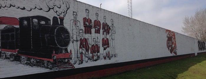 Estadio Miguel Morales (Club Atlético Douglas Haig) is one of Part 1~International Sporting Venues....