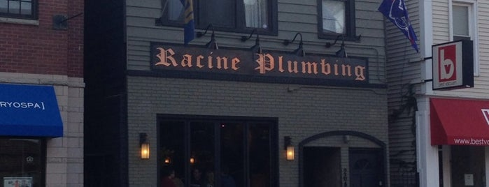 Racine Plumbing is one of Visited Bars.