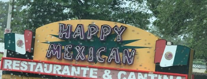 Happy Mexican is one of Posti salvati di Jacque.