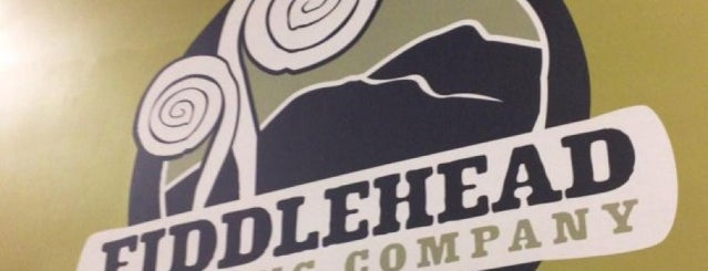 Fiddlehead Brewing Company is one of My must visit brewery list.