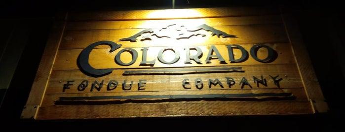 Colorado Fondue Company is one of Orte, die Ryan gefallen.