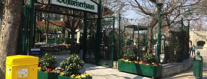 Schweizerhaus is one of Vienna's wheelchair accessible restaurants.