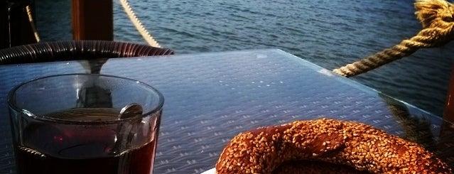 Saman İskelesi Çay Evi is one of Baharın tadına demli bir çayla varın.