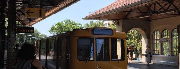 H U Schlesisches Tor is one of U & S Bahnen Berlin by. RayJay.