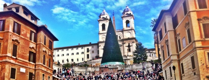 Scalinata di Trinità dei Monti is one of Leyla : понравившиеся места.
