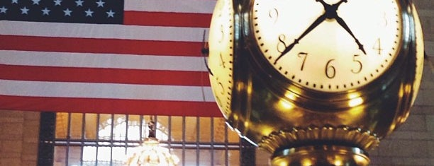 Grand Central Terminal Clock is one of Locais salvos de Rafael.