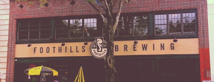 Foothills Brewing is one of Southeast.