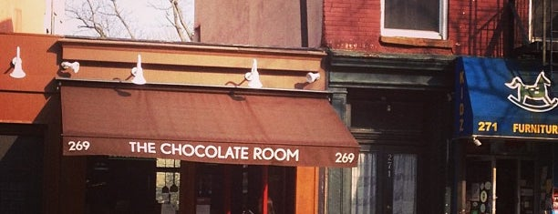 The Chocolate Room is one of Brooklyn / Food.