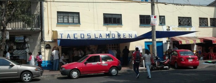 Tacos La Morena is one of Garnachas casa.