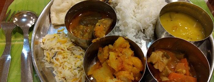 Annalakshmi Restaurant is one of Vegan and Vegetarian.